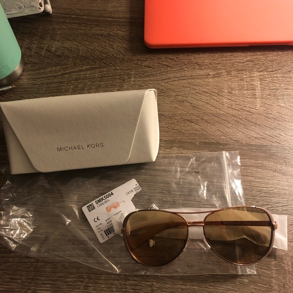 Michael kors chelsea sunglasses- never been worn, new in packaging!
